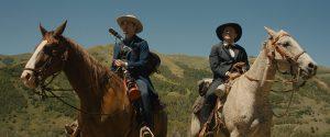 Robert Pattinson and David Zellner in Damsel (2018)