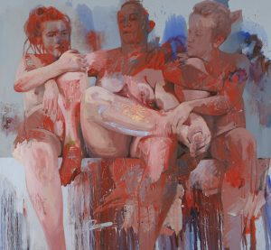Jenny Saville, Red Fates