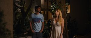 Andrew Garfield and Riley Keough in Under the Silver Lake