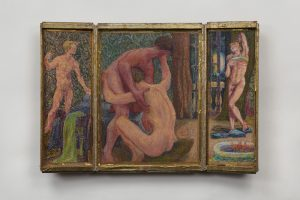 Jess, Lovers III Erotic Triptych (1959 and 1969)