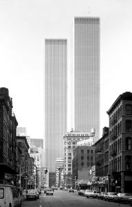 World Trade Center, Minoru Yamasaki, New York, 1971