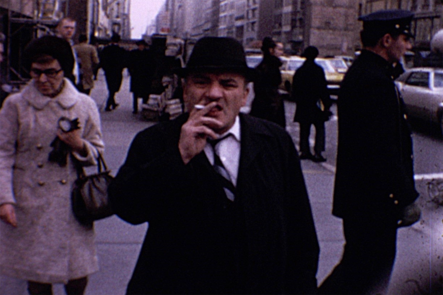 Garry Winogrand. 8mm film still, New York, 1968 [#1]