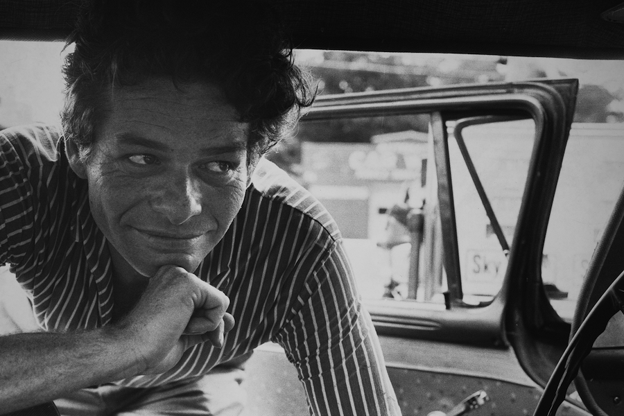 Garry Winogrand. Portrait of Garry Winogrand.
