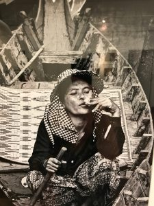 "L. Aviva Diamond, ""Smoking Woman"""