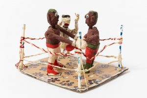 Willard Hill, Untitled (WH277 boxers in the ring)