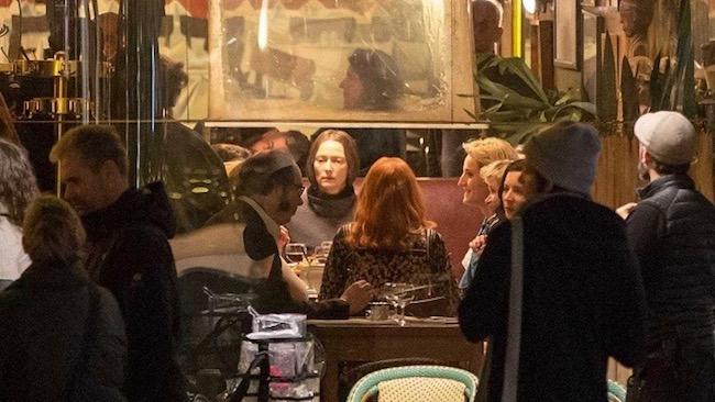 Tilda Swinton and Dakota Johnson in Luca Guadagnino's Suspiria (2018)