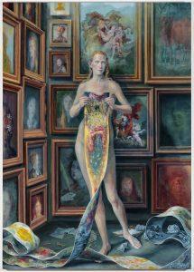 Julie Heffernan: Self-Portait with the Daughters