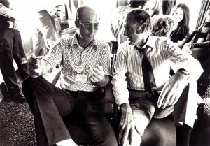 Hunter S. Thompson and George McGovern