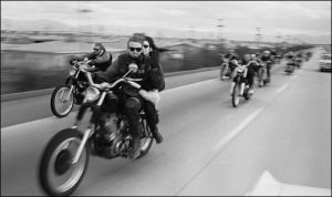 Hunter S. Thompson and The Hell's Angels