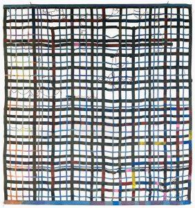 Alan Shields, Shape-Up, 1976-77,