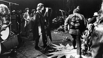 The Rolling Stones and The Hell's Angels at Altamont