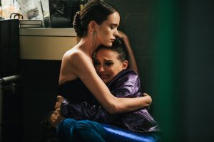 Stacy Martin and Natalie Portman in Vox Lux (2018)