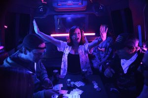 Jennifer Tilly in Walk to Vegas, reviewed at Riot Material magazine