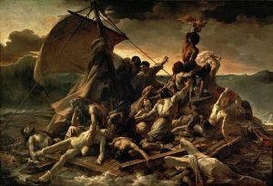 Géricault's The Raft of the Medusa., at Riot Material Magazine