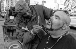"""Suitcase Joe. """"That Evening Sun,"""" a photo-journal of life, love and interminable lasting on LA's Skid Row, is at Riot Material Magazine."""