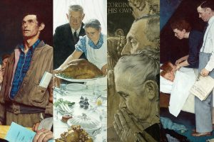 "Norman Rockwell Museum's ""Enduring Ideals: Rockwell, Roosevelt, & the Four Freedoms"" and ""Reimagining the Four Freedoms,"" at Riot Material Magazine"