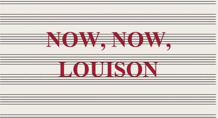 Now, Now, Louison, by Jean Frémon, is reviewed at Riot Material magazine