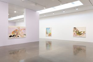 """Christina Quarles. Her exhibition """"But I Woke Jus' Tha Same"""" is reviewed at Riot Material magazine."""