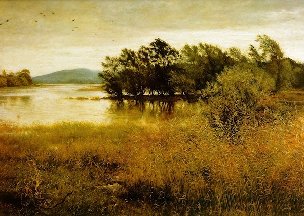 John Everett Millais's Chill October. A review of Van Gogh and Britain, at Tate London, is at Riot Material Magazine.