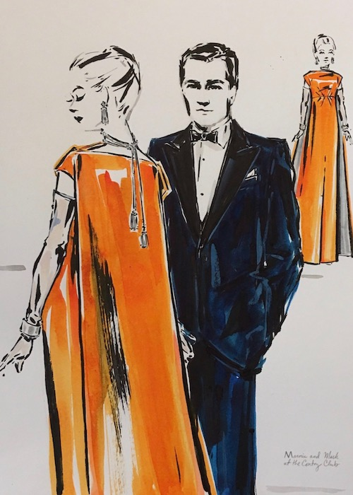 Costumes for Marnie by Arianne Phillips. A review of Nico Muhly's opera is at Riot Material magazine.
