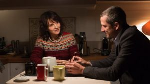 "Juliette Binoche and Guillaume Canet in Olivier Assayas's ""Non-Fiction,"" reviewed at Riot Material, LA's premier art magazine"