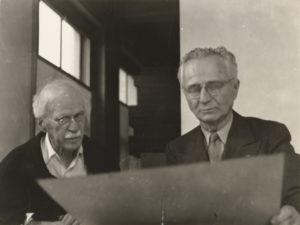 Alfred Stieglitz and Edward Steichen. Photo by Dorothy S. Norman. Riot Material, LA's premier art magazine.