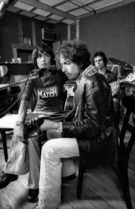 Joan Baez and Bob Dylan. Rolling Thunder Revue: A Bob Dylan Story by Martin Scorsese is reviewed at Riot Material, LA's premier magazine for art and film.