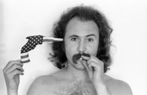 David Crosby, Flag Gun, 1970. An interview with Crosby is at Riot Material magazine.