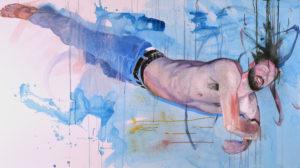 """Austin Stiegemeier, """"Gravitate."""" An interview with Stiegemeier is at Riot Material, LA's premier art magazine."""