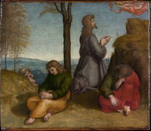Raphael's The Agony in the Garden