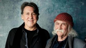 Cameron Crowe and David Crosby. An interview with Crosby is at Riot Material magazine.