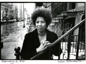 Toni Morrison, 1974. Toni Morrison: Pieces I Am is reviewed at Riot Material, LA's premier magazine for Art and Film