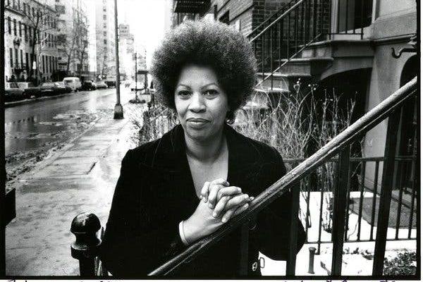 Toni Morrison, 1974. Toni Morrison:Pieces I Am is reviewed at Riot Material, LA's premier magazine for Art and Film