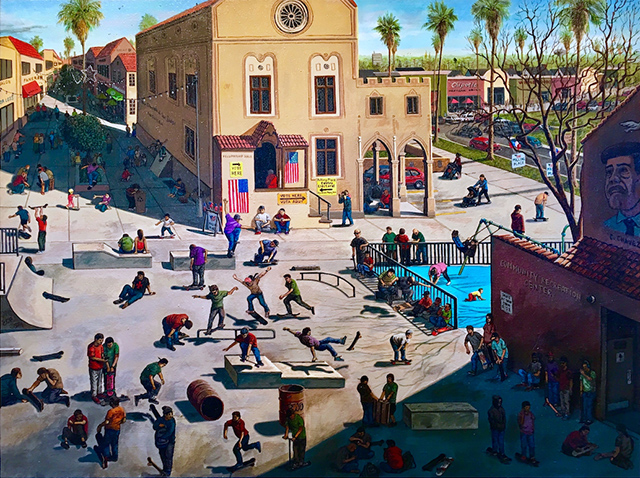 Sandow Birk, in Narrative Painting in LA, reviewed at Riot Material magazine.