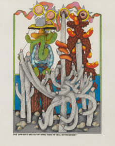 Terry Allen's The Cowboy's Dreams of Home Turn to Chili-Up-The-Desert, at Riot Material, LA's premier art magazine.