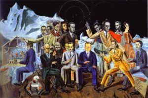 Max Ernst, A Friends' Reunion