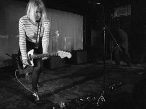 "Kim Gordon's new release, ""Sketch Artist,"" from her forthcoming record No Home Record, can be heard at Riot Material magazine."