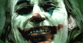 Joaquin Phoenix as The Joker. A look at the modern protester and the Joker mask is at Riot Material