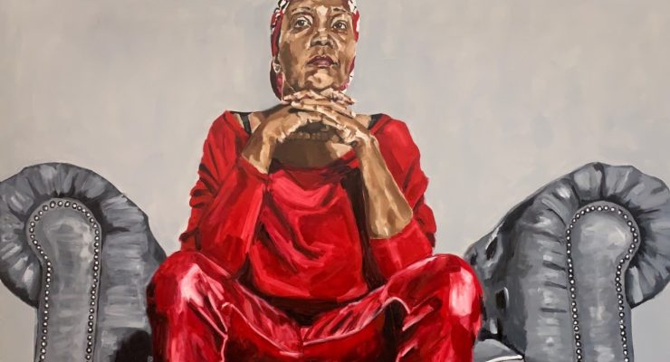 """Wangari Mathenge """"The Cacophony of Silence."""" Methenge's latest exhibition at Roberts Projects, Aura of Quiet, is reviewed at Riot Material magazine."""