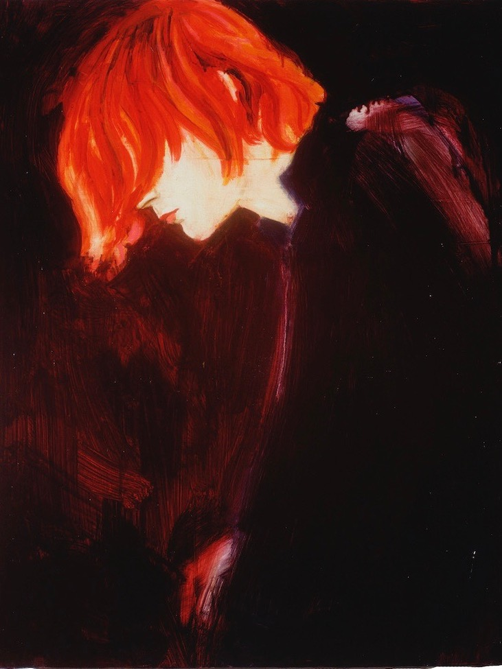 Alizarin Kurt by Elizabeth Peyton, 1995