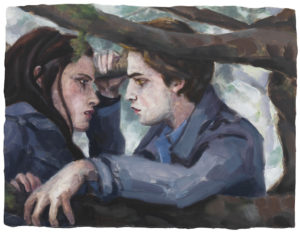 Twilight by Elizabeth Peyton, 2009.