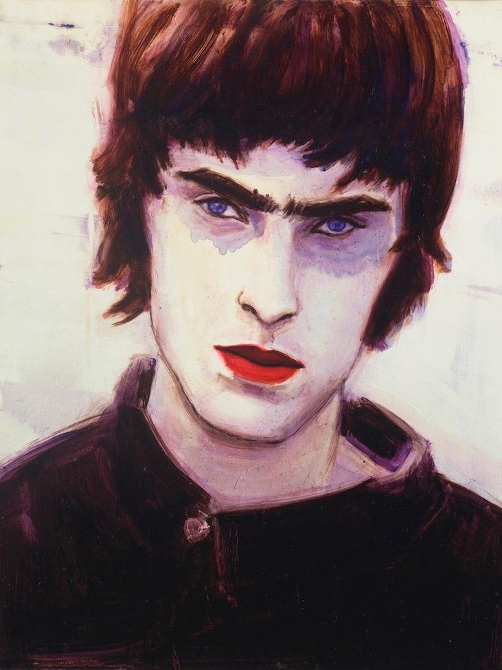 Blue Liam by Elizabeth Peyton, 1996