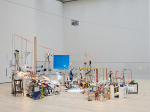 Sarah Sze's MoMA installation, reviewed at Riot Material magazine