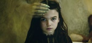 Brooklynn Prince in The Turning (2020). A review of The Turning is at Riot Material magazine.