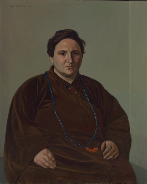 "Félix Vallotton, Gertrude Stein, 1907. The Met's ""Painter of Disquiet is reviewed at Riot Material magazine."