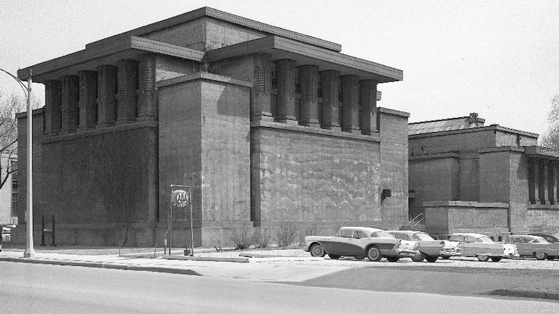 Unity Temple (1905-1908), Oak Park, Illinois