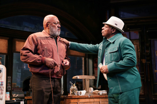 Keith Randolph Smith and Harvy Blanks in August Wilson's Jitney