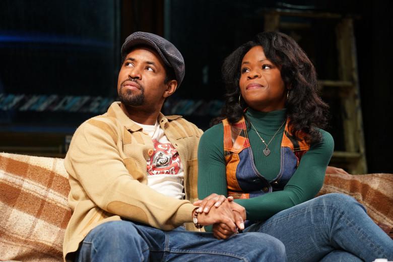 """Amari Cheatom and Nija Okoro in August Wilson's """"Jitney"""""""